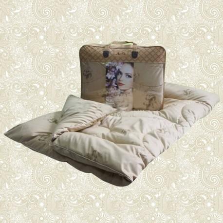 """Одеяло из овечьей шерсти """"Этюд"""" утолщенное"""